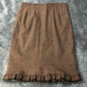 Anthropologie-Nanette Lepore trumpet skirt size 10
